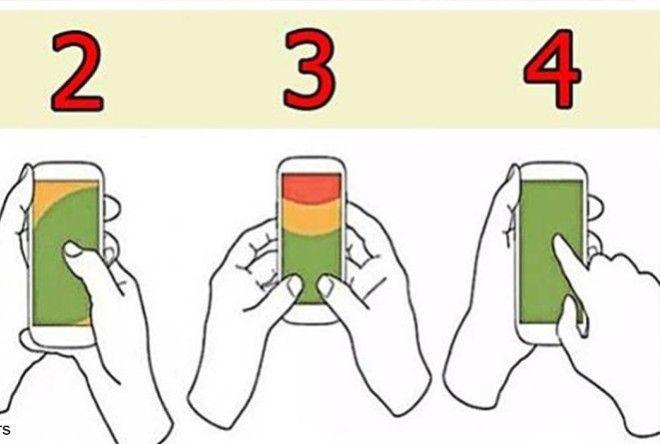 То, Как Вы Держите Телефон, Может Рассказать О Вашем Характере (5 фото)