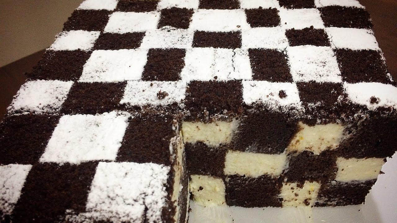 Приготовив этот шахматный чизкейк