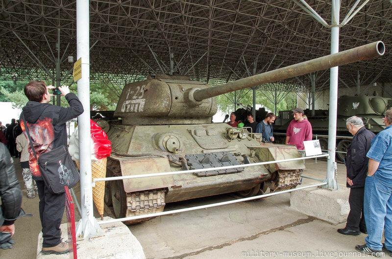Военно-технический музей в г. Лешаны