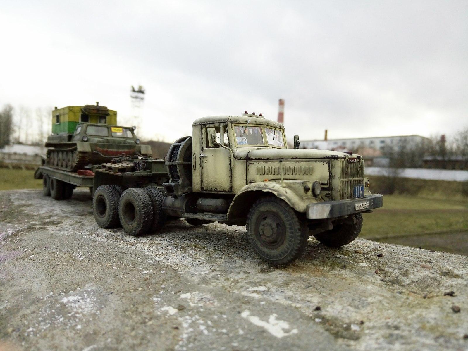 Советские грузовики в миниатюре