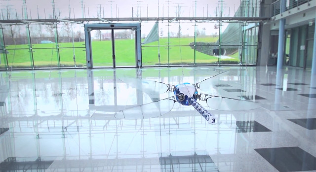 The BioniCopter: A Robotic Dragonfly by Festo