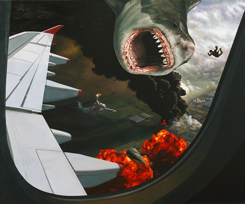 Sharks and Skydivers - Artist - Caleb Brown