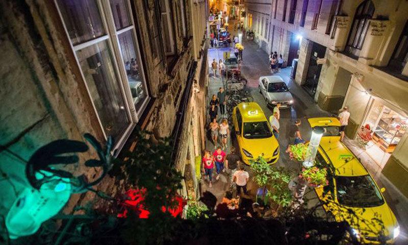 A budapesti bulinegyed