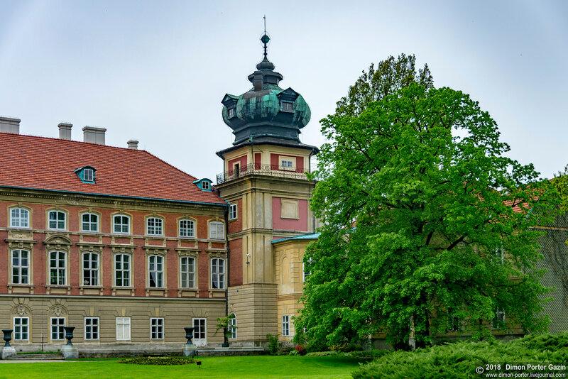 Ланцут. Замок Любомирских и Потоцких