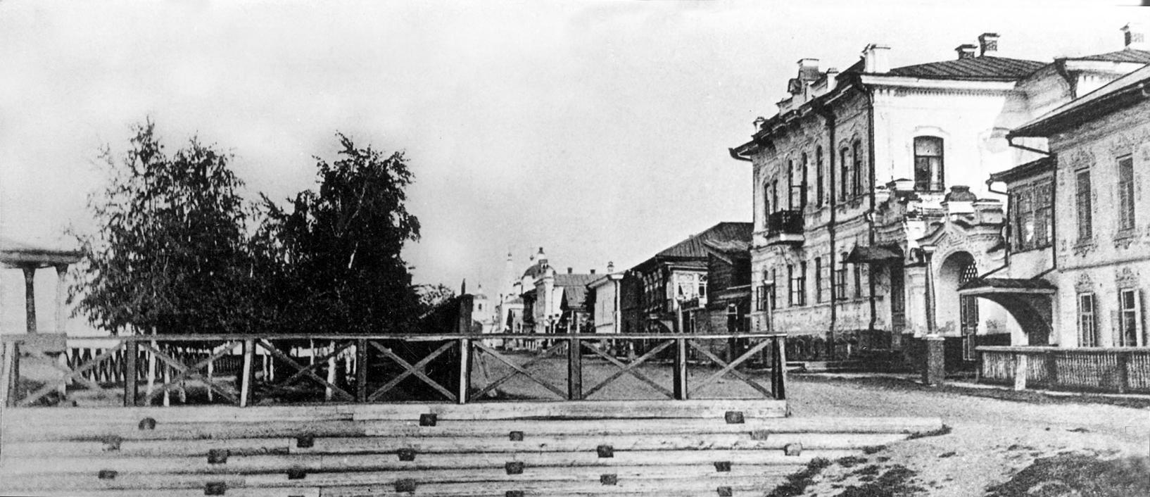 Дом усадьбы Т.С. Востротина