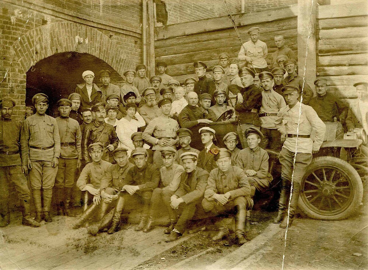 1918-1919. Пермские чекисты