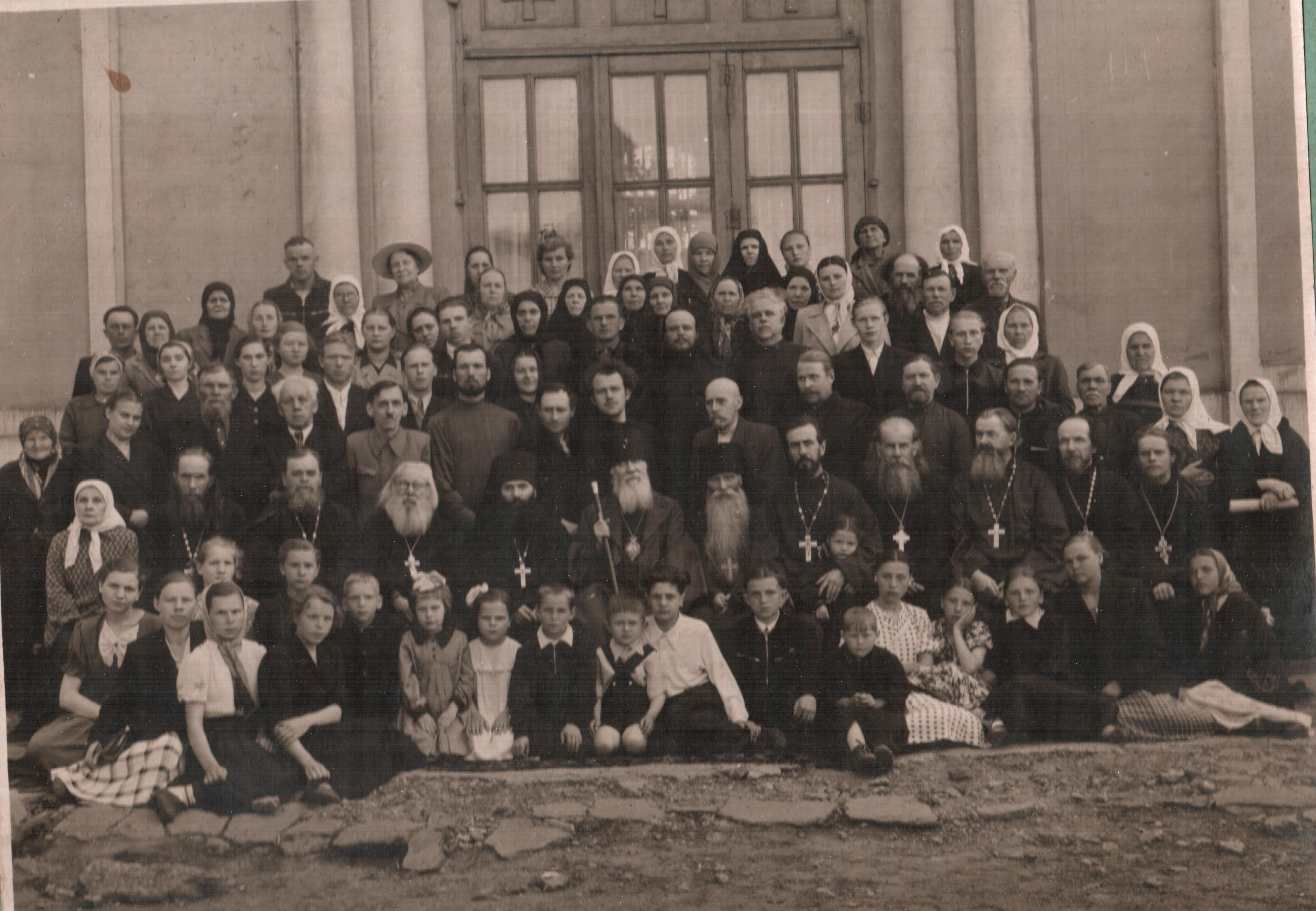 1956. Отъезд архиепископа Иоанна (Лавриенко)
