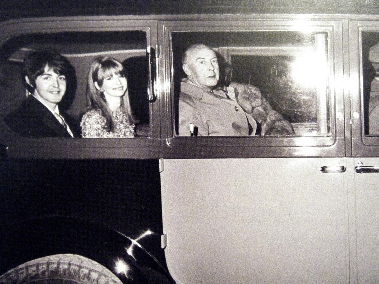 1967. Пол Маккартни и Джейн Эшер