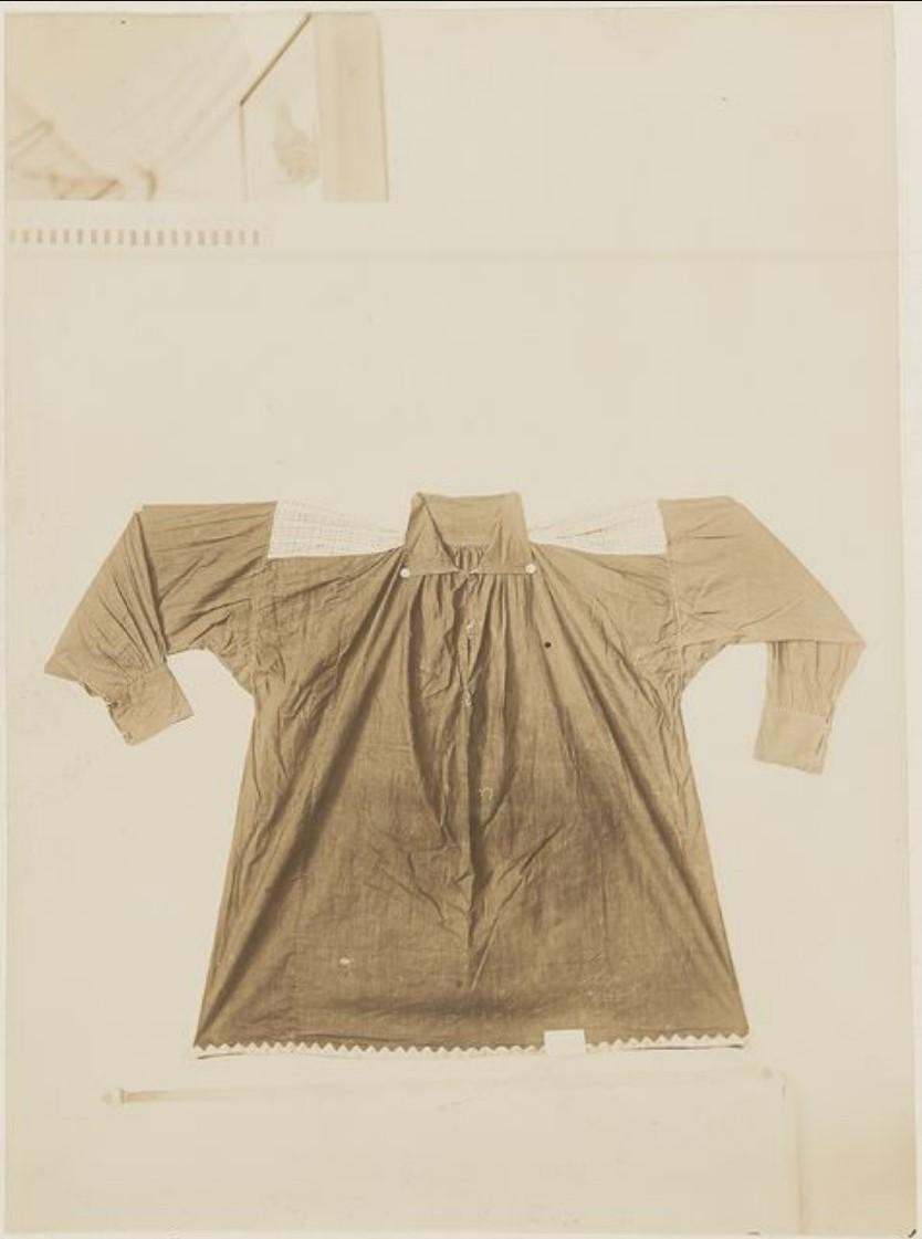 Мужская рубашка из Тобольского музея
