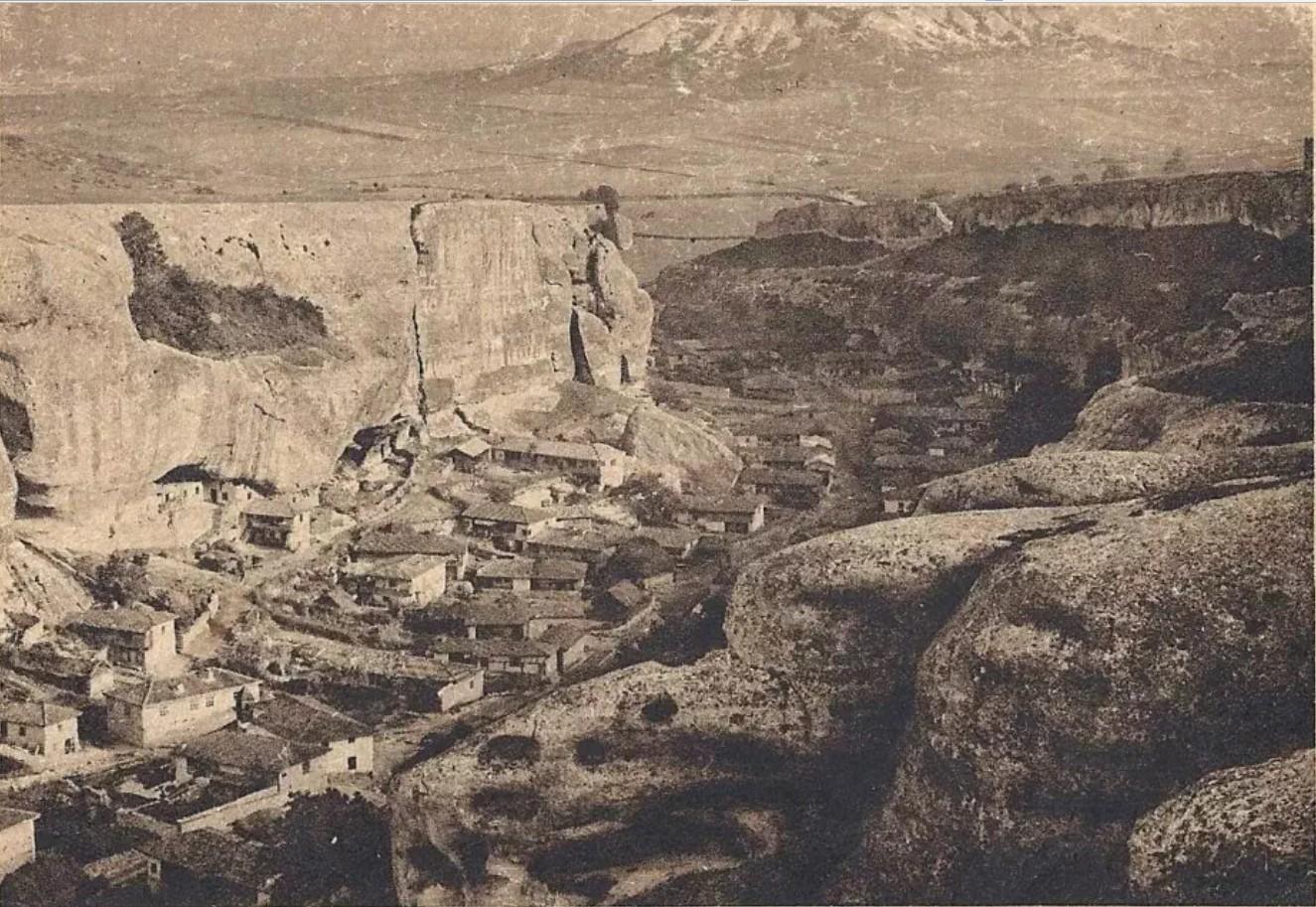 Деревня Черкес-Кермен
