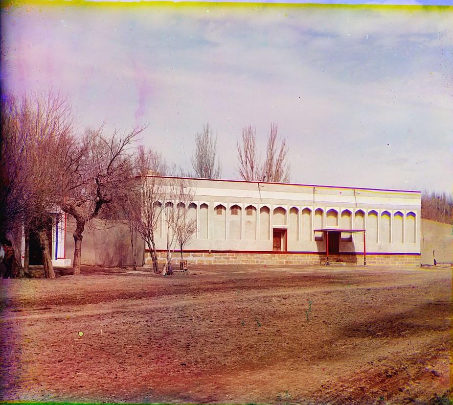 Дворец Эмира в саду Кари близ Бухары