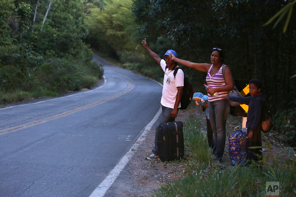 Венесуэльцы ищут лучшей доли в Бразилии
