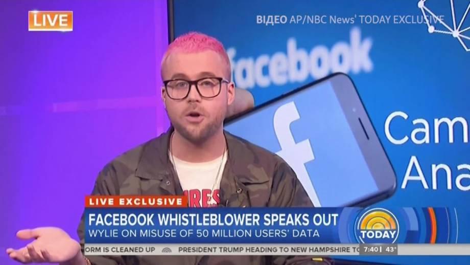Facebook под ударом из-за данные 50 миллионов пользователей (видео)