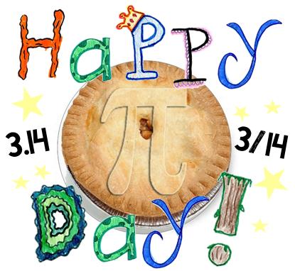 Открытки Международный день числа «Пи». Празднуем