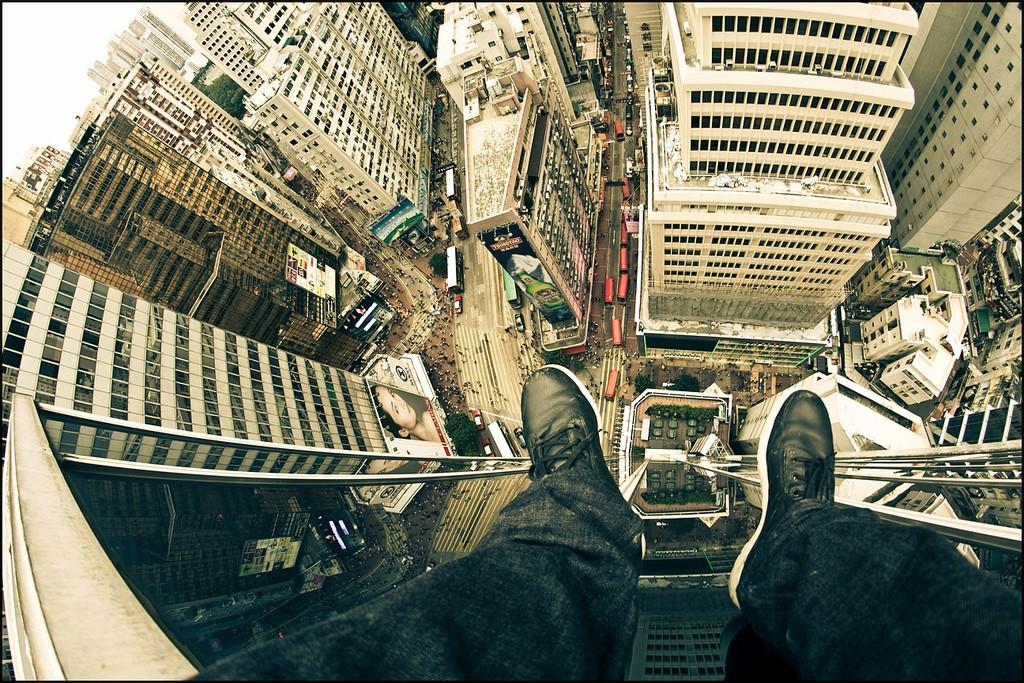 4. Захватывающий вид на Гонконг.