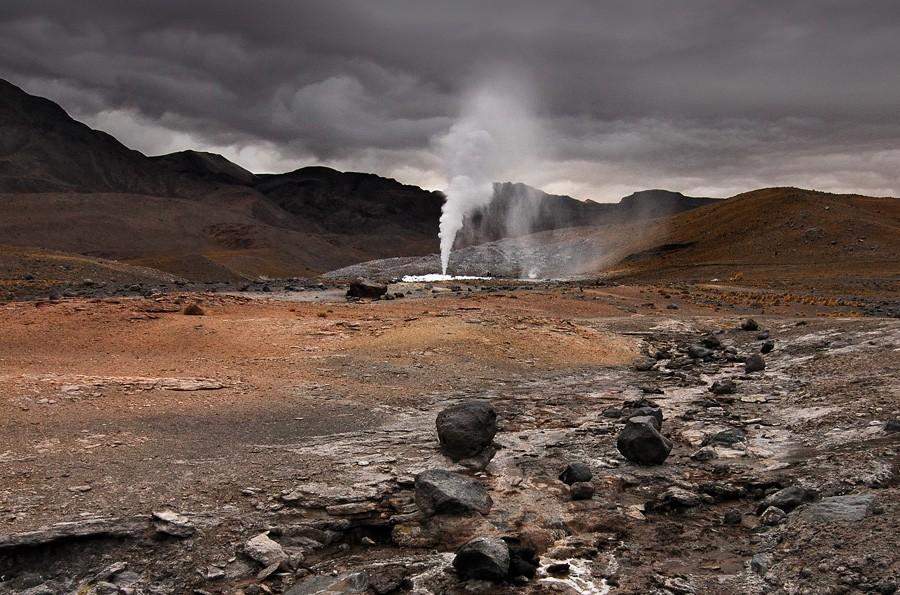 15. Пуритама, Чили Восемь источников на дне каньона в пустыне Атакама, что в северном Чили, недавно