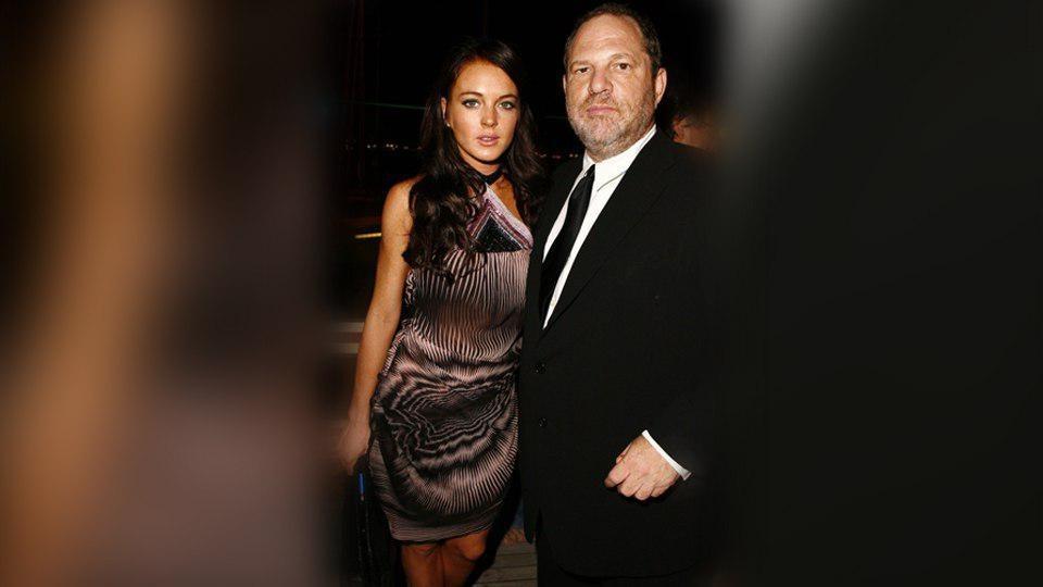 Актриса Линдси Лохан в «истории» в инстаграме отметила, что сочувствует Харви: «Он никогда не причин
