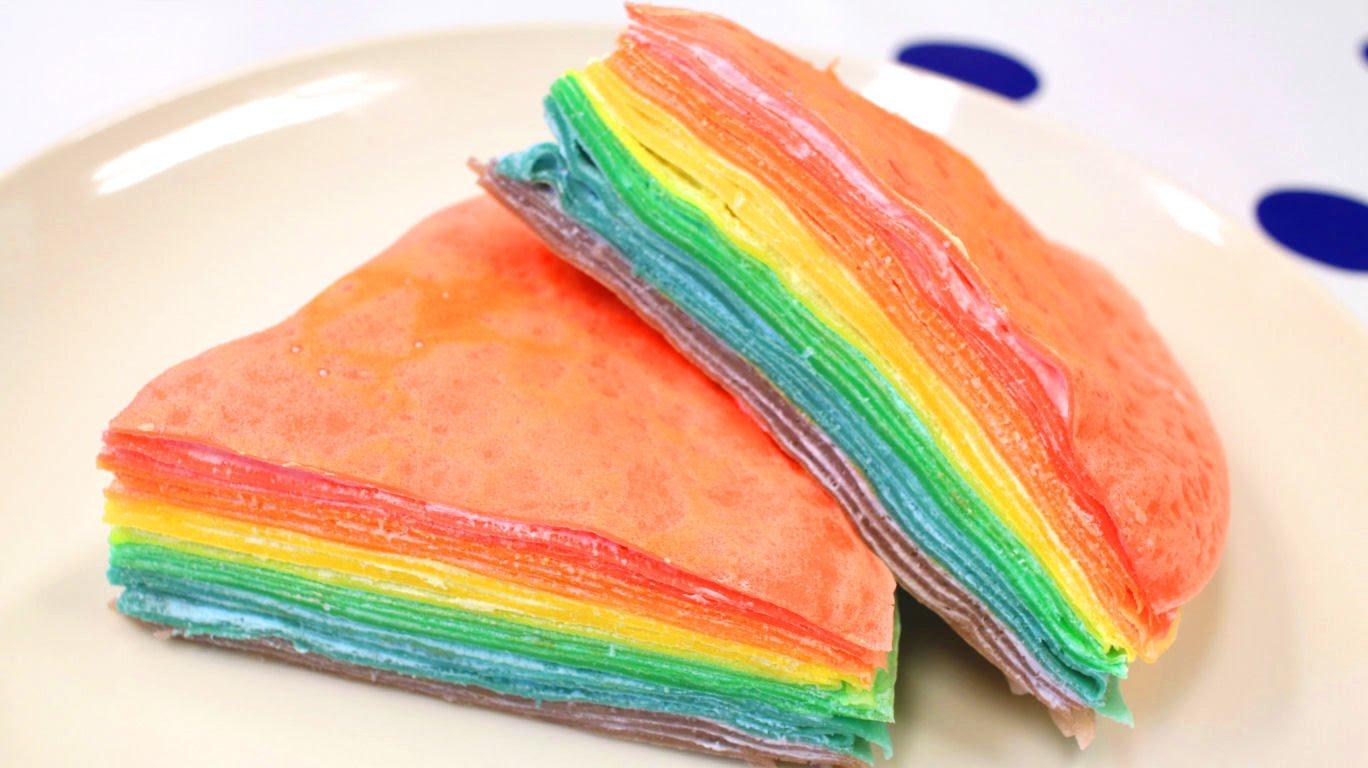 Рецепт радужного пирога