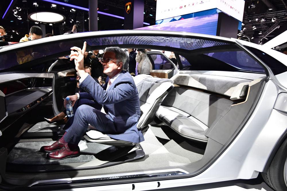 А вот и новый концепт-кар Audi Aicon: