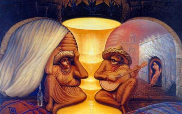 Мексиканский художник Октавио Окампо — автор довольно необычных картин со скрытым смыслом. Если приг