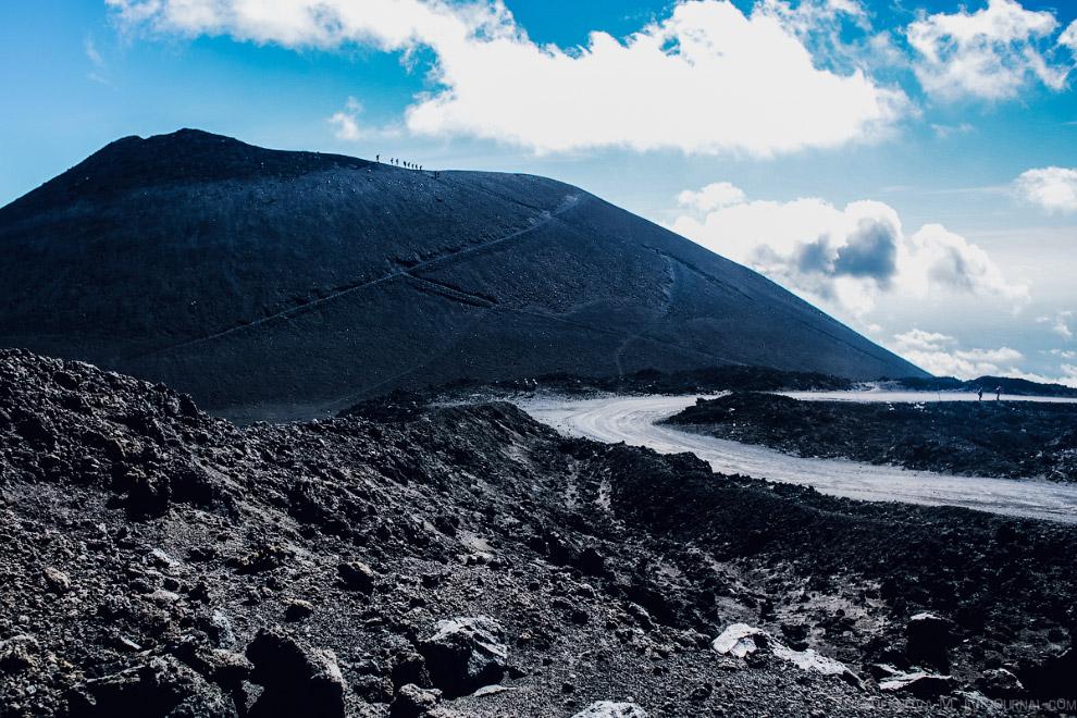 Путешествие на вулкан Этна