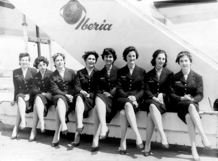 Униформа компании Iberia в 1946 году