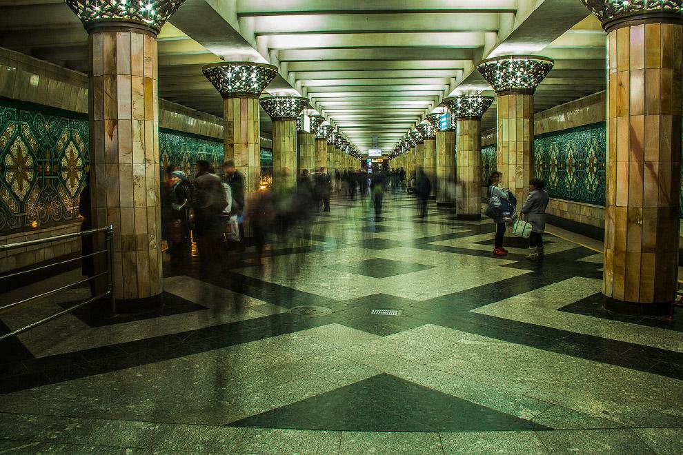 7. Станция «Бунёдкор»: