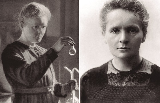 Причина свинцового захоронения ученой Марии Кюри (8 фото)
