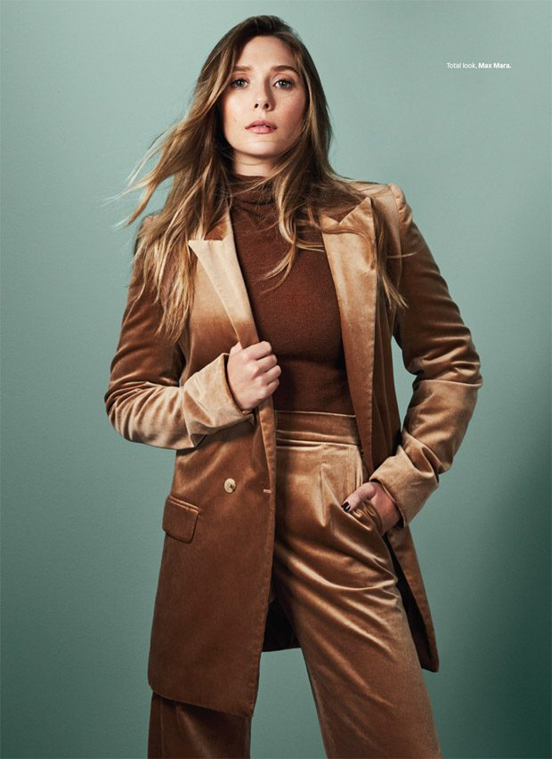 Elizabeth Olsen Stars in Glamour Mexico October 2017 Cover Story