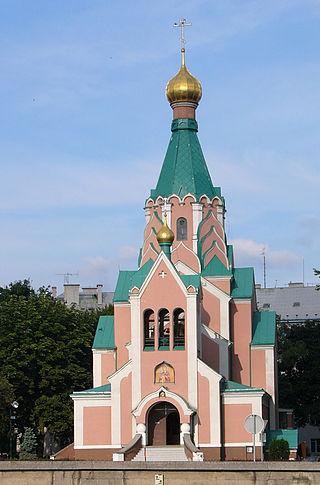 Kosetl_Sv._Gorazda  Православная  церковь,  Оломоуц
