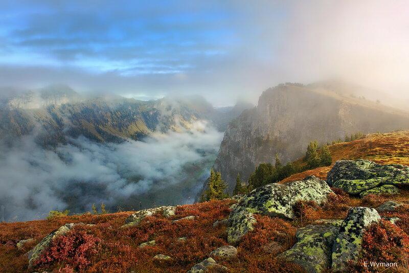 эта осень в горах, как одно волшебство
