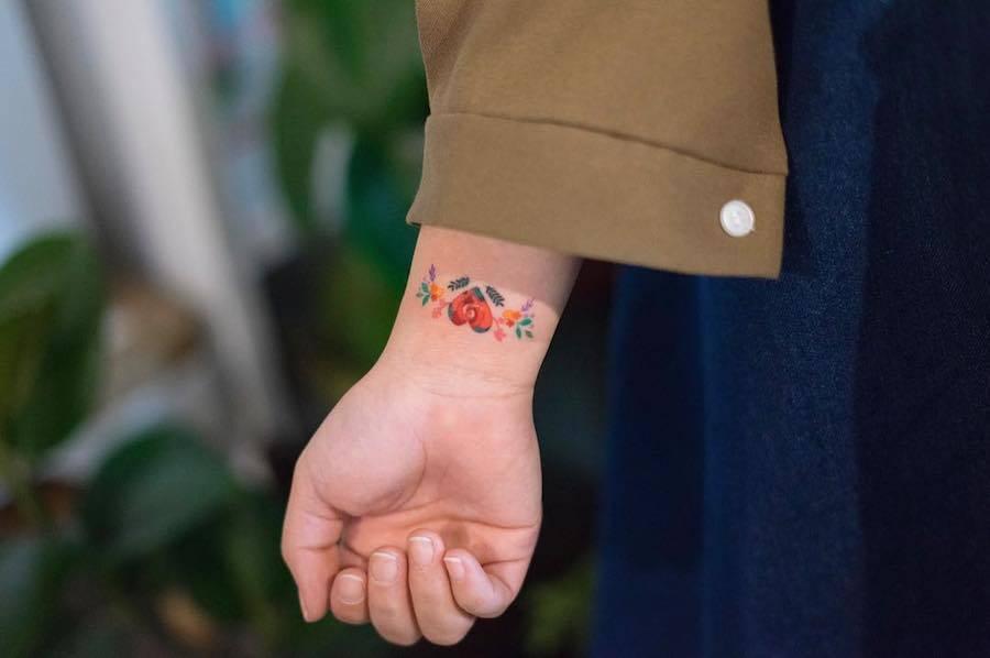Tatuagens Delicadas e Ornamentais de Ziehe
