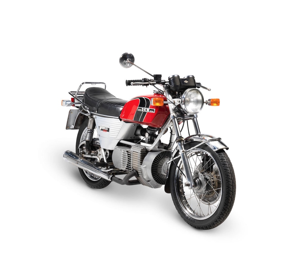 DKW W2000 / Hercules W-2000 Rotary - мотоцикл с роторным мотором Ванкеля
