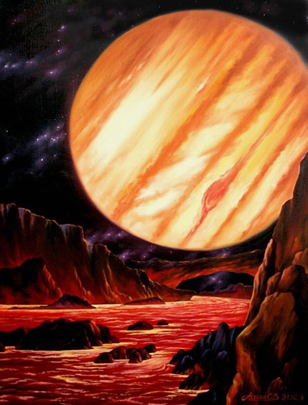 Юпитер у художников