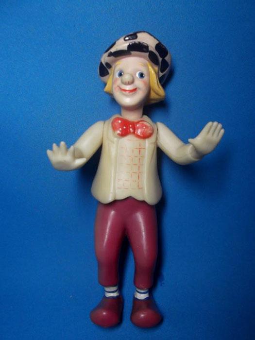 Клоун с куклой, клоун-кукла. Памяти Олега Константиновича Попова посвящается.