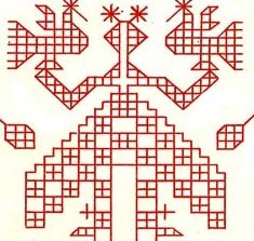 орнамент берегиня рожаница