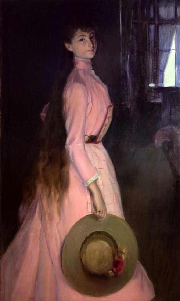 Portrait of Donna Olga Caracciolo dei Duchi di Castelluccio