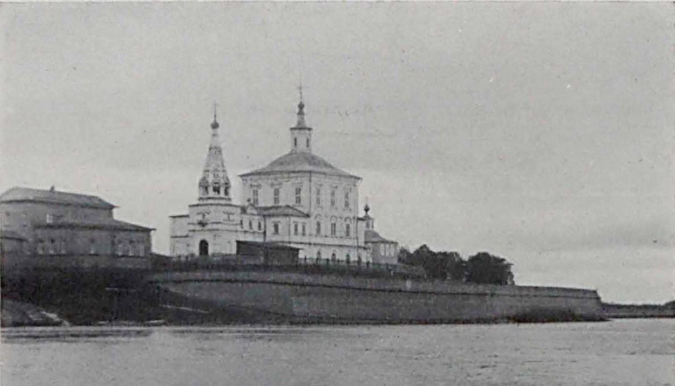 Укрепленный берег у Спасообыденной церкви. 1910