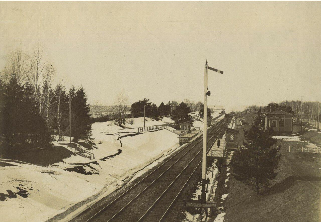 Платформа Петровское - Разумовское Николаевской дороги, 1890-е