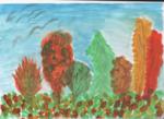 Сальникова Мирослава (рук. Кадырбердиева Гульнара Зайдулловна ) - Осенней порой