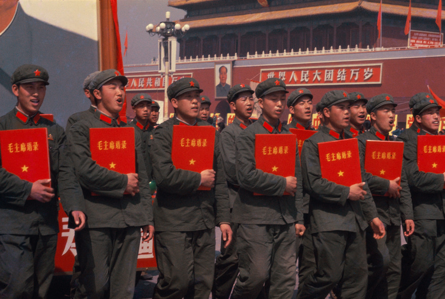Photos of Red Guards, China 1966 (9).jpg