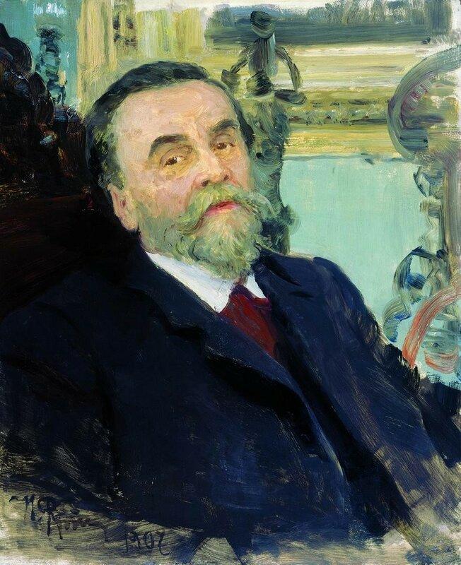 Портрет Ивана Евменьевича Цветкова. 1907 Илья Репин