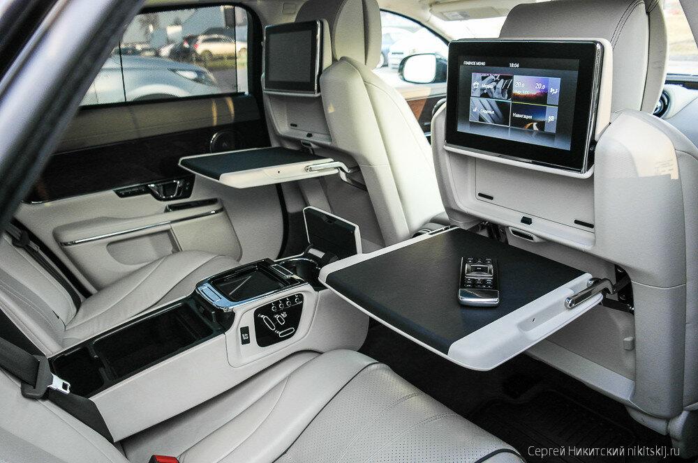 Тест-драйв Jaguar XJ Long: капсула благополучия