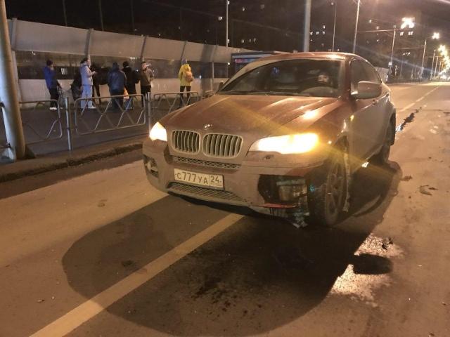 ВКрасноярске автоледи сбила коня наСвободном