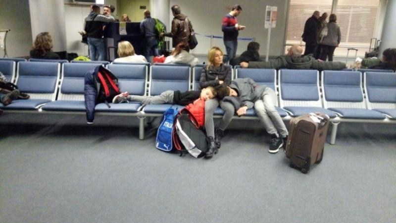 Шторм полностью остановил работу аэропорта Анадыря