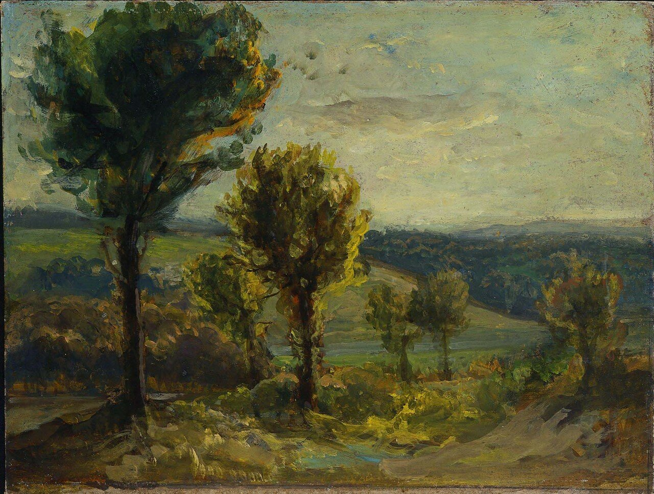 Landscape Near Champrosay, about 1858