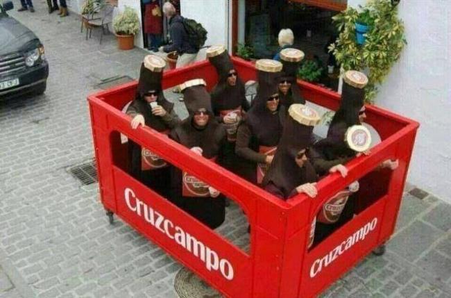Первый в истории случай каннибализма среди пива.