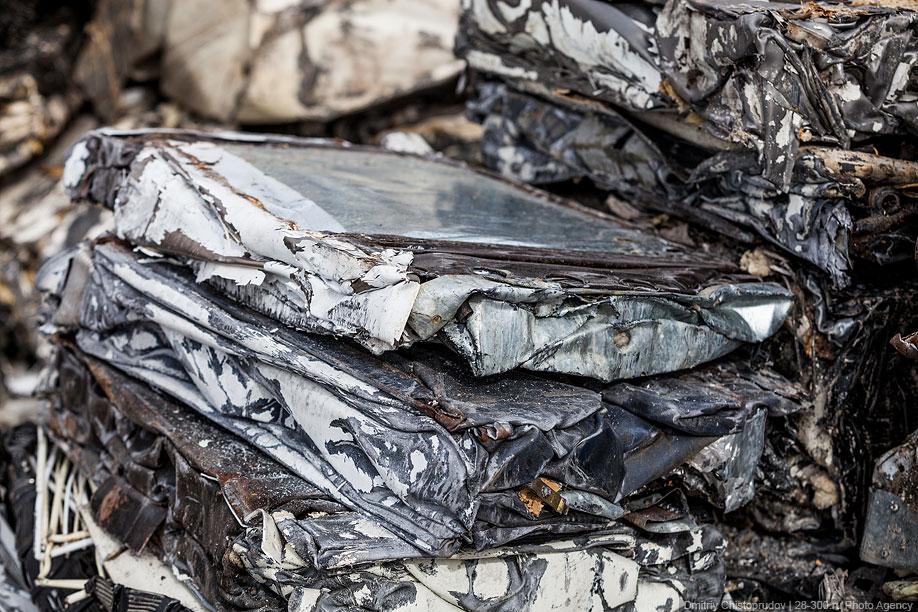 Кроме бытовой техники, компания UKO утилизирует бумагу, пластик, целлофан и пенопласт. В специа