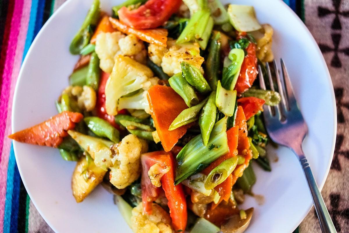 27. Жареные овощи.