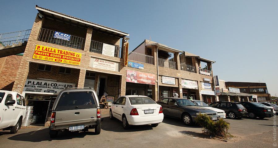 Типичный магазин в жилом квартале: